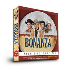 BONANZA DVD SET GIFT TIN ADVENTURES OF THE CARTWRIGHT CLAN Film Reel Collection