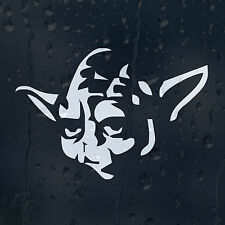 Star Wars Jedi Master Yoda Car Decal Vinyl Sticker For Bumper Or Window Or Panel