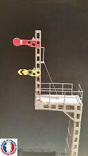 FEU12-HO-Signal mécanique d'arrêt combiné SNCB