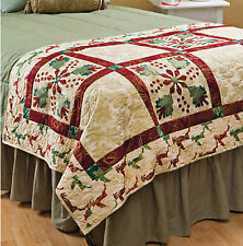 Christmas Bed Runner & More Holiday Patchwork Designs Quilting Pattern Book