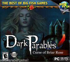 BIG FISH GAMES: DARK PARABLES: CURSE OF BRIAR ROSE. NEW.SHIPS FAST / SHIPS FREE!