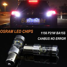 2x1156 Canbus OSRAM LED Bulb  Backup Reverse Light  For VW GOLF MK2 MK3 MK4 MK5