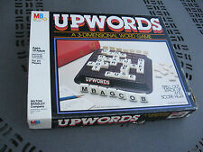 1983 Milton Bradley UpWords Up Words 3-Dimensional Word Game Ages 10+ 2-4 Player