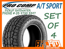 (SET OF4) 305/70R16 PRO COMP A/T SPORTS ALL TERRAIN TYRES - PICKUP BAYSWATER