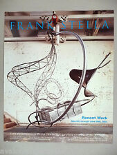 Frank Stella Art Gallery Exhibit PRINT AD - 2003