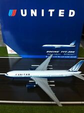 UNITED AIRLINES  B777  REG N769UA GEMINI JETS   1:400 SCALE MODEL AIRPLANES