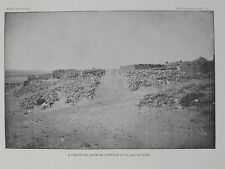 Zia Indian Pueblo Village In Ruins New Mexico 1894