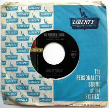SHIRLEY COLLIE 45 No Wonder I Sing / We're Going Back Together TEEN Pop w1388