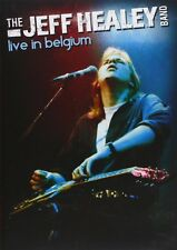 THE JEFF HEALEY BAND - LIVE IN BELGIUM - WITH BONUS CD - DVD NEUF NEW NEU