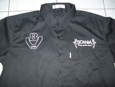 NEU SCANIA King of the Road Mod.2 Fan - Hemd shirt blouse camisa chemise skjorta