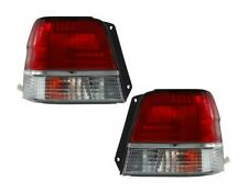 1998 1999 TOYOTA TERCEL TAIL LIGHTS LEFT AND RIGHT PAIR SET