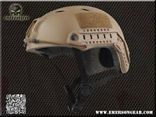 Emerson BJ Type Helmet TAN (Civilian Version) For Airsoft wilcox mich EM8810A