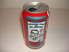 DON SHULA 325 MIAMI DOLPHINS FOOTBALL HALL OF FAME HOF SODA COKE COLA CAN NFL