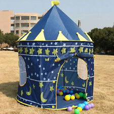 Baby Kids Portable Outdoor Indoor Palace Castle House Play Tent Playhouse