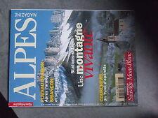 $$ Revue Alpes Magazine N°43 Corchevel  Plateau d'Albion  Briancon  Mont-Blanc