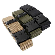 Durable Tactical EMT Security Police SWAT Duty Utility Military Belt DE