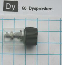 1 gram Dysprosium metal 99,9% in glass vial - Element 66 sample