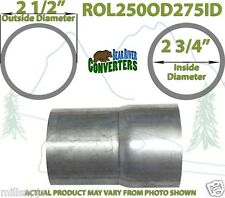 "2 1/2"" OD to 2 3/4"" ID Universal Exhaust Component to Pipe Adapter Reducer"