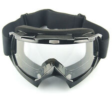 Helmet Motorcycle Motocross Goggles Glasses Clear Eyewear Dirt Bike Riding Road