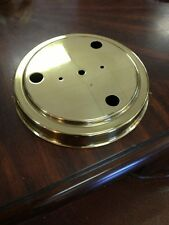 Lamp Base Polished Brass Made In Usa
