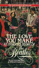 THE BEATLES  The Love You Make  paperback book from 1984