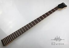 24 Fret Rosewood Maple Electric Bass Neck Replacement Satin Finish 0116#10