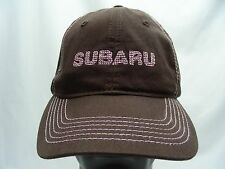 SUBARU - BROWN - ADJUSTABLE BALL CAP HAT!