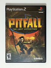Pitfall: The Lost Expedition Complete Black Label PS2 (Sony PlayStation 2, 2004)