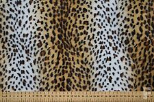 ANIMAL FAUX FUR (VELBOA FUR) FABRIC  - 100% POLYESTER - WIDTH 150 CM