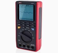 Handheld 8MHz Oscilloscope Scopemeter 40MSa/s & 3999 Counts Multimeter USB UT81B