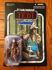 Star Wars The Vintage Collection LOGRAY Ewok Medicine Man VC55 Unpunched ROTJ