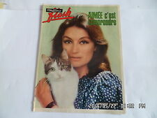 NOUS DEUX FLASH SUPPLEMENT N°1727 ANOUK AIMEE LE GROUPE TELEPHONE L.ROUSSEY  G49