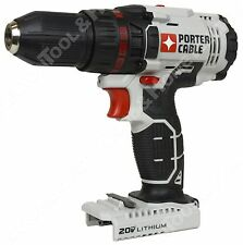 "New Porter Cable PCC601 20V 1/2"" Lithium Ion Cordless Drill Driver with LED"