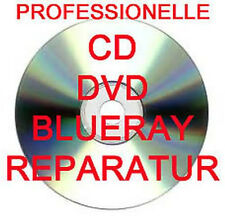 PROFESSIONELLE CD / DVD / BLURAY / SPIELE DISC REPARATUR