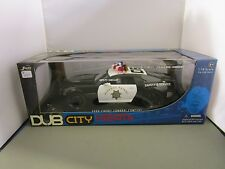 JADA 1/18 DUB CITY HEAT BLACK & WHITE 2006 CHEVY CAMARO CONCEPT NEW *READ*