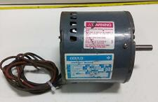 GOULD CENTURY MOTOR 8-150971-01 F48Y TYPE CX 1/5HP 60HZ PH 1 MOTOR