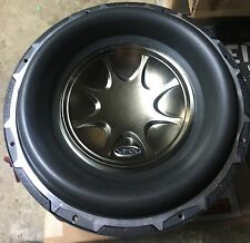"Refurbished PAIR Old School Earthquake Subzero DVC 12"" Comp Subwoofers,RARE,USA"