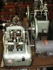 OMBI Medium Double Curb Chain Making Machine, Excellent Condition!