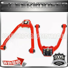FOR 2003-2008 Infiniti G35 Nissan 350z Front Upper Camber Arms RED