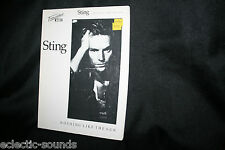 STING TRANSCRIBED SCORES Nothing Like The Sun HARD TO FIND Music Book Songbook