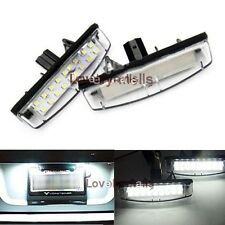 NEW White LED License Number Plate Light For Toyota Avensis Verso/Echo 2000-2004
