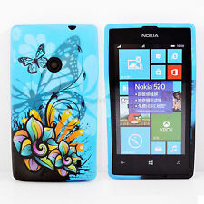 Excellent Soft Phone TPU Gel Rubber Case Cover For Nokia Lumia 520 N520
