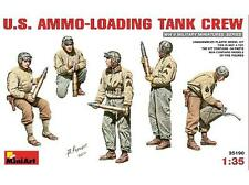 1/35 WWII US Ammunition Loading Crew figure set by MiniArt ~ 35190