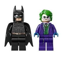 LEGO SUPER HEROES LOT OF 2 MINIFIGURE THE JOKER & BLACK BATMAN THE TUMBLER 76023