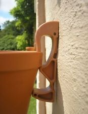 10 Hooks For Hanging Terracotta Pots On Fences & Walls Alternative to Baskets