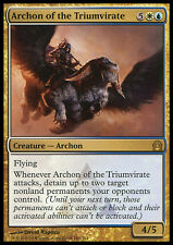 MTG ARCHON OF THE TRIUMVIRATE FOIL ARCONTE DEL TRIUMVIRATO PRERELEASE