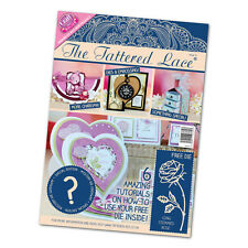Tattered Lace Magazine Issue 21 + Free Long Stemmed Rose Die + Extra Mystery Die