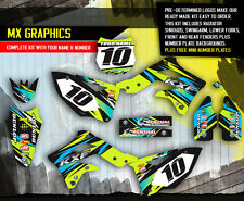 2013 2014 2015 KXF 250 GRAPHICS KIT KAWASAKI KX250F MOTOCROSS BIKE GREY DECALS
