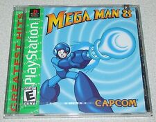 Mega Man 8 Playstation PS1 Factory Sealed!