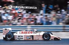 9x6 Photograph Pascal Fabre  , AGS-Cosworth JH22 , French GP Paul Ricard 1987